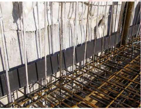 Cemflex Vb Steel Plate Waterstop Ogmt Construction