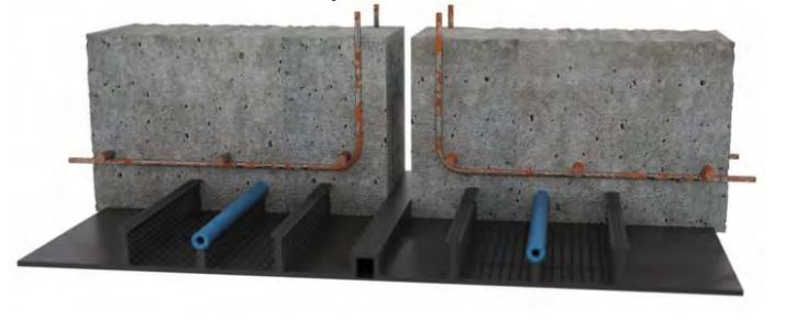 Slurry For Waterproofing Construction Joints In Pools : Cemproof pvc waterstops waterbars ogmt construction